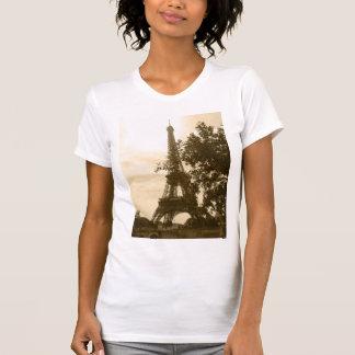 T-shirt Tour Eiffel de sépia