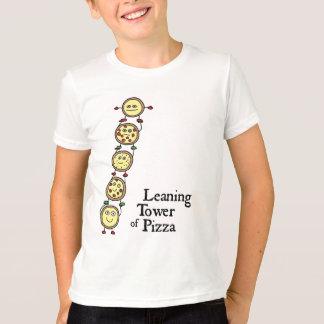 T-shirt Tour penchée de pizza