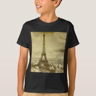 T-shirt Tour vintage Paris France 1889 d'Eifel