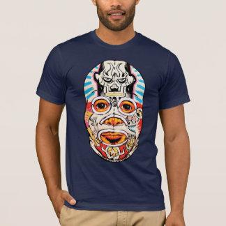 "T-shirt Tourbe Wollaeger ""JIM Mahfood Collabomask """