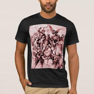 T-shirt Tourmenté par des démons