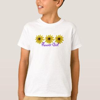 T-shirt Tournesols de demoiselle de honneur
