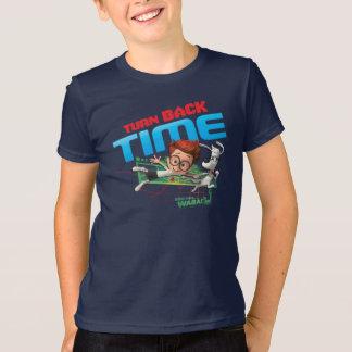 T-shirt Tournez de retour le temps