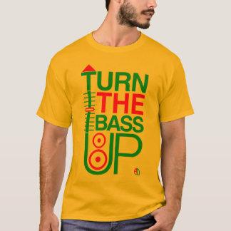 T-shirt TOURNEZ LA BASSE - des couleurs de reggae -