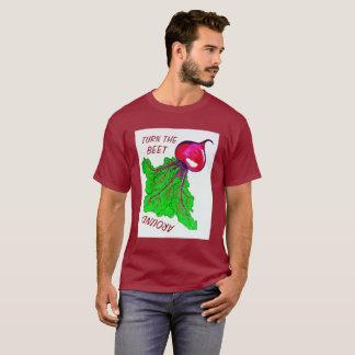 T-shirt Tournez la betterave autour de la chemise