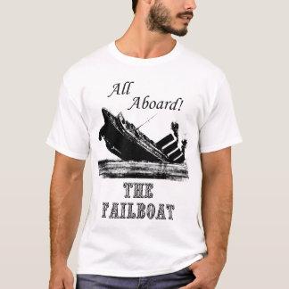 T-shirt Tous à bord du Failboat
