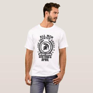 T-shirt tous les hommes sont égal créé mais seulement les