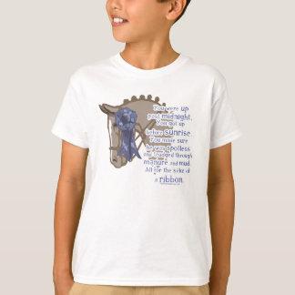 T-shirt Tous pour le ruban