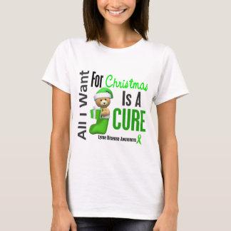 T-shirt Tous que je veux pour la maladie de Lyme de Noël