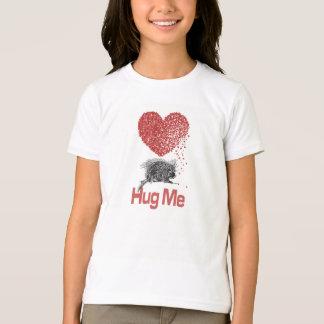 T-shirt Tout I Want est un art de porc-épic d'impression