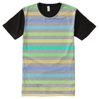 T-shirt Tout Imprimé Arc de pluie et vente en ligne d'achat américain