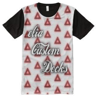 T-shirt Tout Imprimé Chemise de logo du feu de Wiccan
