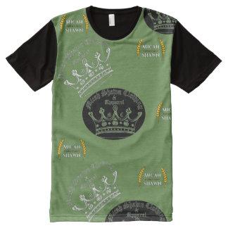 T-shirt Tout Imprimé Chemise vintage en évolution d'habillement de logo