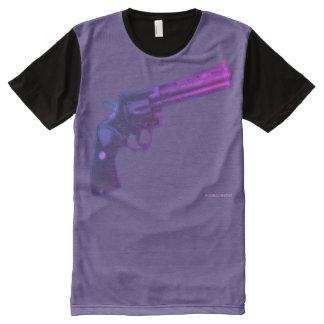 T-shirt Tout Imprimé Chemisette Colt Python Violet
