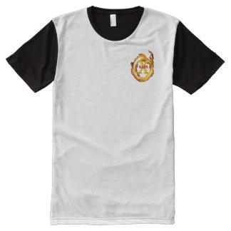 T-shirt Tout Imprimé Coin principal Merch de logo de X-Bande