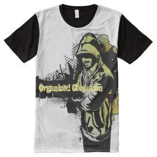 T-shirt Tout Imprimé Confusion organisée 101