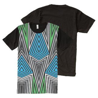 T-shirt Tout Imprimé Copie de Rex d'arc-en-ciel pleine : Rétro