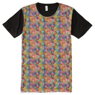 T-shirt Tout Imprimé dragées à la gelée de sucre