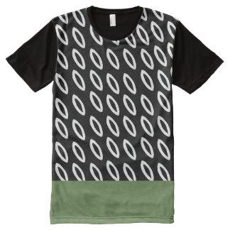 T-shirt Tout Imprimé Forest Green