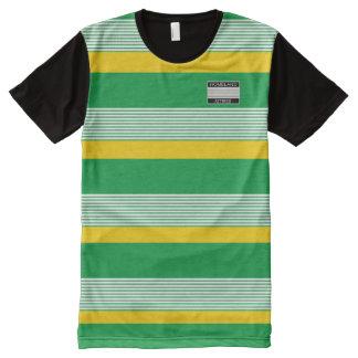 T-shirt Tout Imprimé La patrie Attires la chemise de couleurs de
