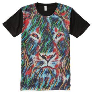 T-shirt Tout Imprimé La plupart d'art Trippy populaire de fusion de