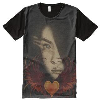 T-shirt Tout Imprimé L'ange 101 du ciel