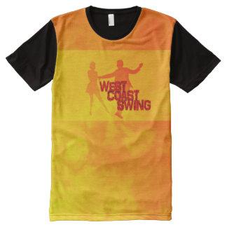 T-shirt Tout Imprimé L'ouest Coast swing
