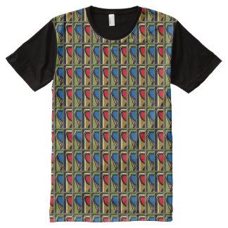 T-shirt Tout Imprimé Pièce en t de coutume de Martin