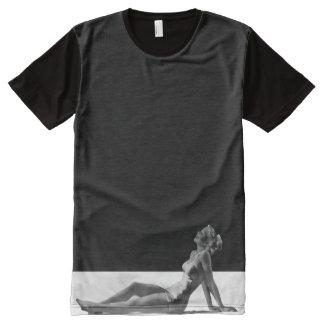 T-shirt Tout Imprimé Pin vers le haut de fille