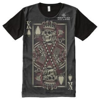 T-shirt Tout Imprimé Roi des pelles (roi de l'ouest)