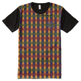 T-shirt Tout Imprimé Seigneurs anglais riches snob Colored Modern