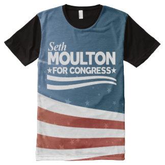 T-shirt Tout Imprimé Seth Moulton