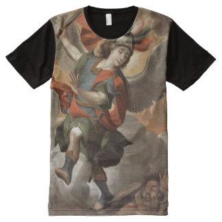 T-shirt Tout Imprimé St Michael Arkhangel