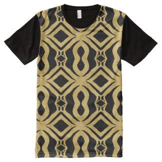 T-shirt Tout Imprimé Vente en ligne d'habillement d'or d'achat