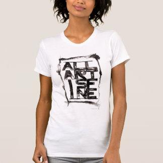 """T-shirt """"Tout l'art est très bien"""" PSA"""