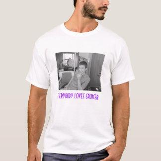 T-shirt Tout le monde aime le spencer