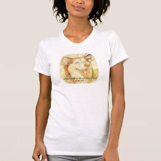 T-shirt Toute la chair verra le salut du 3:6 de Luc de