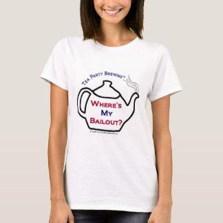 T-shirt TP0114 où est mon renflouement