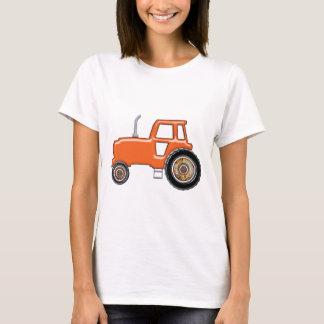 T-shirt Tracteur orange brillant