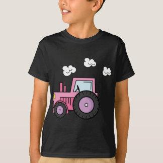 T-shirt Tracteur rose