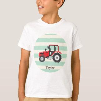 T-shirt Tracteur rouge de ferme