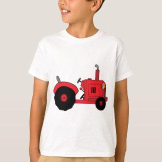 T-shirt tracteur rouge vintage