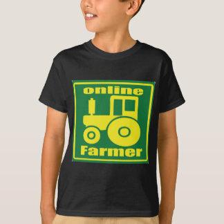 T-shirt tracteur vert
