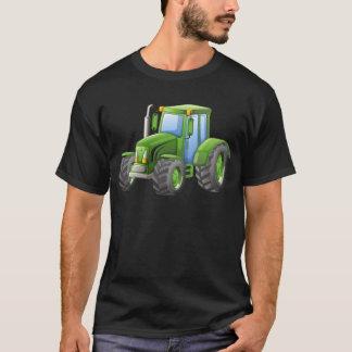T-shirt Tracteur vert avec de grandes roues