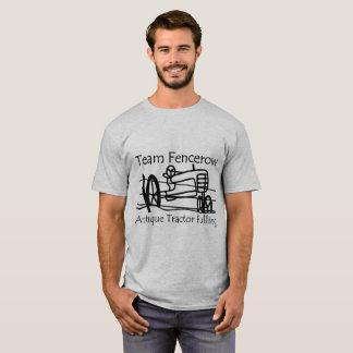 T-shirt Traction antique de tracteur de Fencerow d'équipe