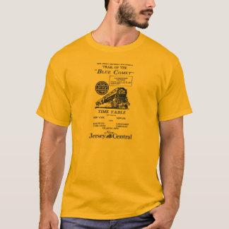 T-shirt Train bleu de comète - trains de luxe d'entraîneur