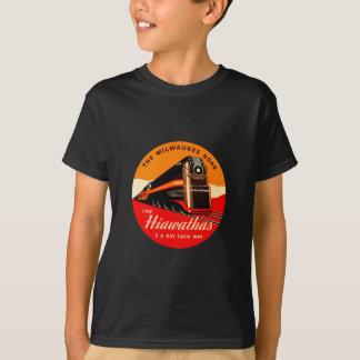T-shirt Train de Hiawathas