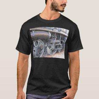 T-shirt Train de machine à vapeur de chemin de fer de