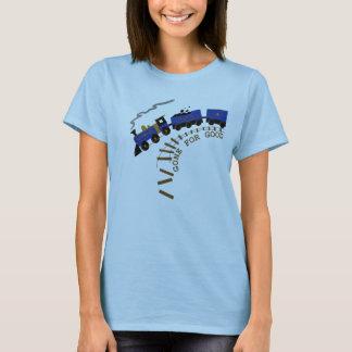 T-shirt Train de pensée