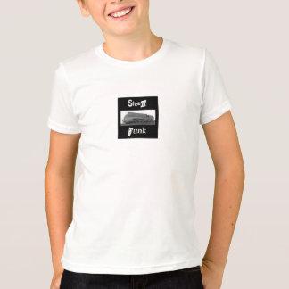 T-shirt train de steampunk